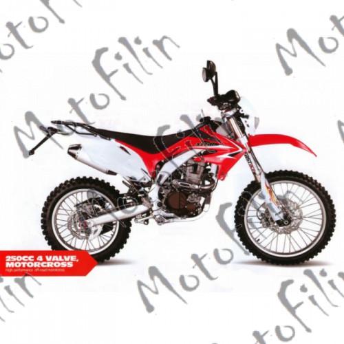 Мотоцикл XR 250сс  PRO 4клапана, 24лс zongshen, водяное охлаждение.