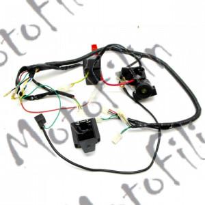 Проводка на питбайки (под электростартер) полностью XR125.