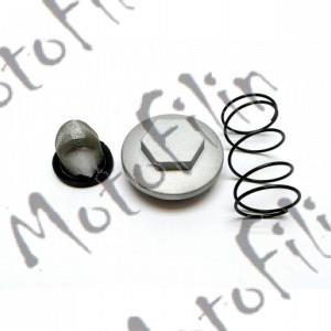 Масляный фильтр, пружина, пробка, кольцо уплотнительное на CG150/CB250