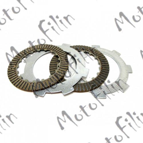 Диски сцепления (компл.) 147FMH, 152FMI (усиленные) (2 фрикц. 1 мет.)