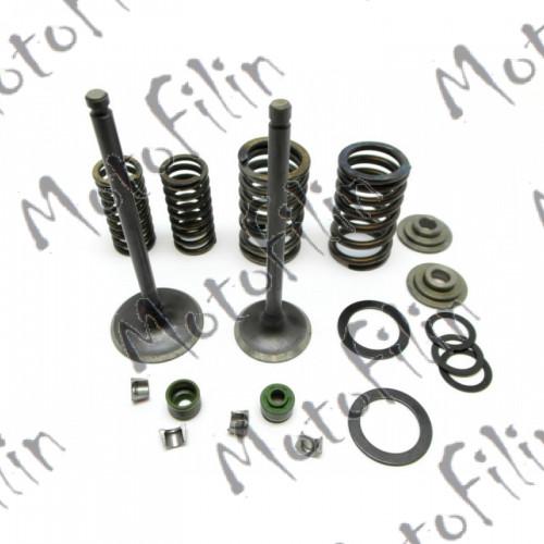 Клапаны головки цилиндра (комплект) 169FMM CB250 ML