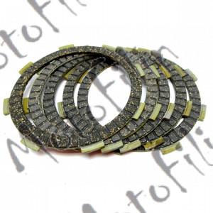 Диски сцепления фрикционные YBR125 RX125 YB100 (5шт)