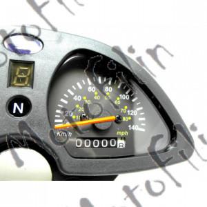 Панель приборов на Ирбис ТТР250b.