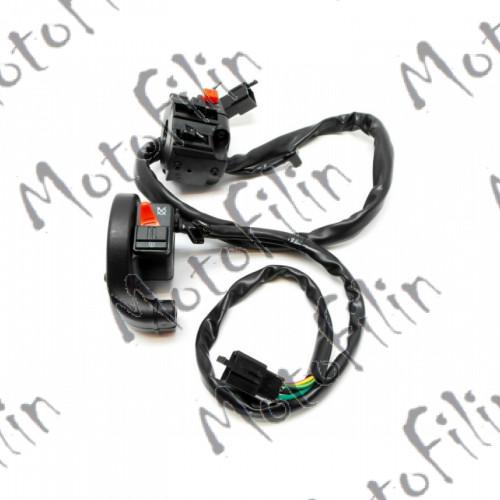 Пульт правый и левый на XR250S (Ирбис). Комплект.