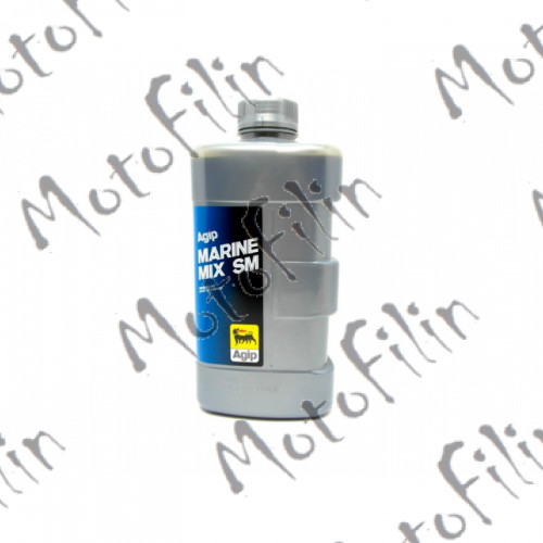 ENI / Agip Marinemix SM 2T для лодочных моторов. Беззольное.