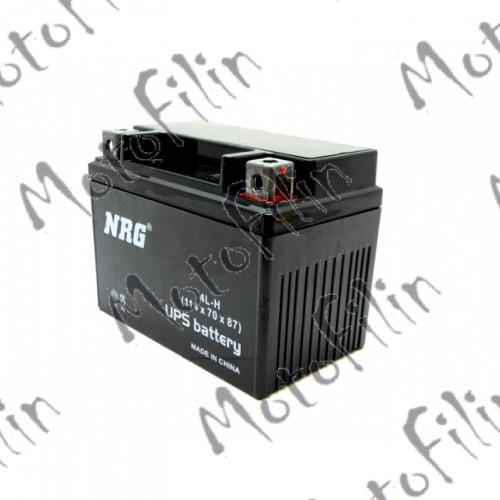 Аккумулятор. АКБ NRG 12В 4А/Ч 114х70х87