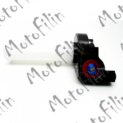 Короткоходная ручка газа 22мм (комплект)