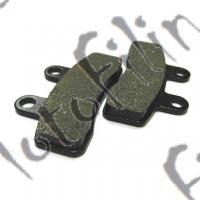 Колодки тормозные дисковые TTR110, TTR125 (перед)
