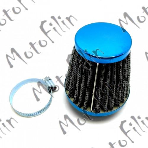 Фильтр воздушный нулевого сопротивления. 35-36мм. Синий.