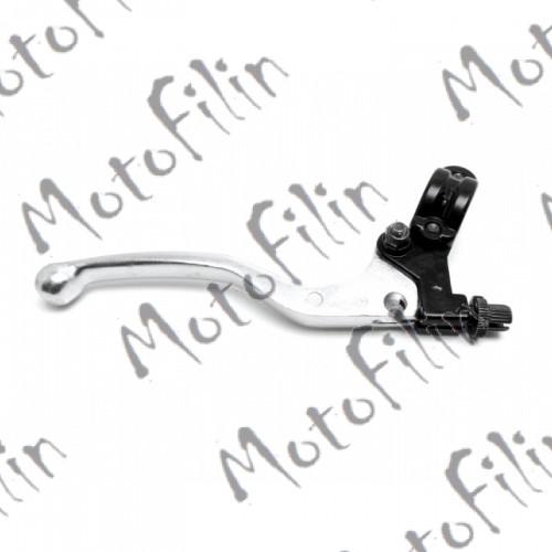 Рычаг (ручка) сцепления в сборе для мототехники на руль от 22мм в диаметре