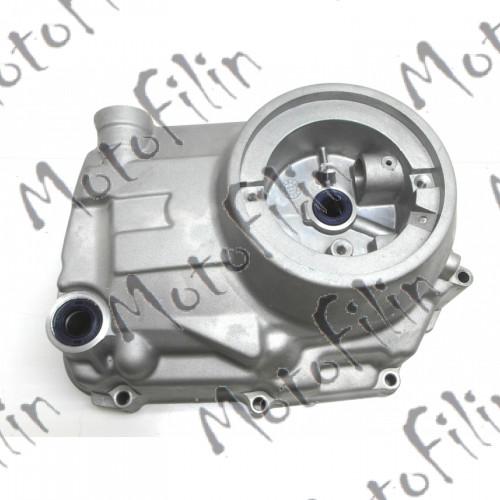 Крышка картера правая на питбайк Кайо 125 классик (мотор LF120 -125cc)