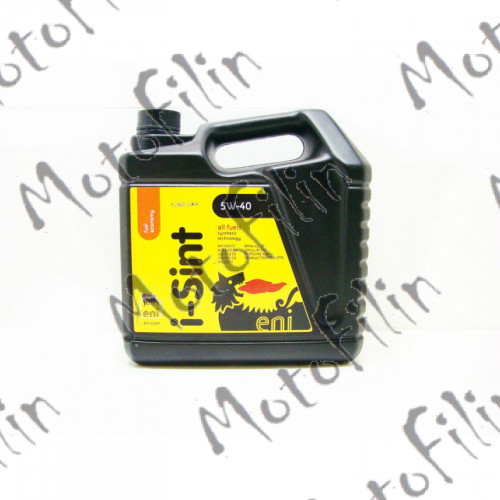 Eni i-Sint 5W-40 4L. Синтетика. Авто масло в ДВС.