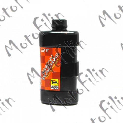 ENI / Agip Snow Raicing 2T. 1L. Синтетическое мотомасло для 2Т низкая дымность.
