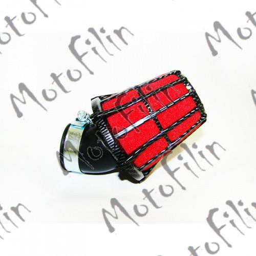 Фильтр нулевого сопротивления KIYOSHI (39мм) поролон, угловой