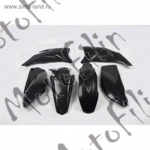 Пластик чёрный комплект на TTR 125