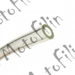 Шланг бензиновый 4,5х8,5 силиконовый (прозрачный)