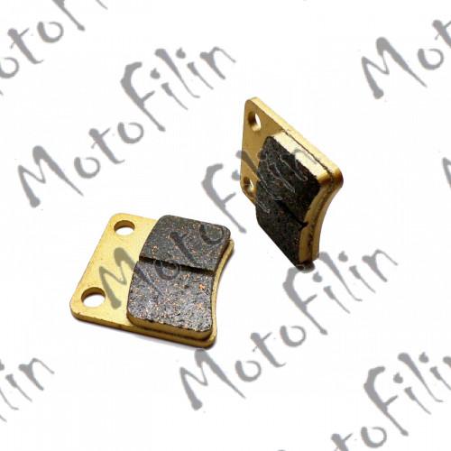 Колодки тормозные дисковые  #9 X-TECH (less-metallic) медь