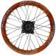 Диск колесный R14 задний алюминиевый оранжевый (1,85-R14 d=15mm)