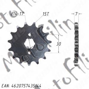Звезда ведущая (428-15T) 139FMB,147FMH,152FMI,154FMI