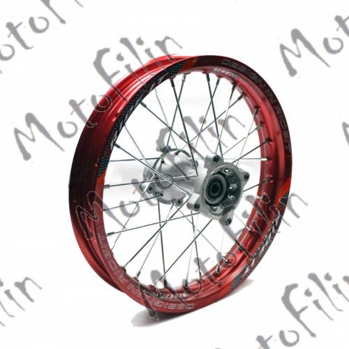 Диск колесный R14 задний алюминиевый красный (1,85-R14 d=15mm)