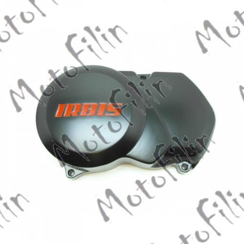 Крышка левая (генератор) с надписью IRBIS. (154FMI без стартера)