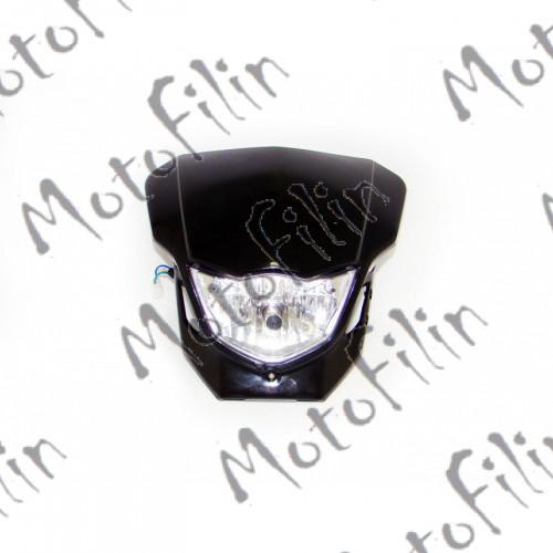 Фара на питбайк с цоколем под лампу H4