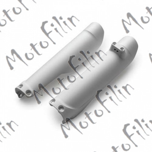 Пластик на амортизаторы (пара) TTR125-250 (цв. белый)