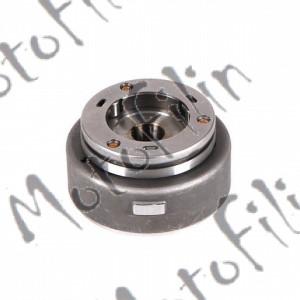 Ротор генератора 157FMI,162FMJ (CG125-200) (с муфтой обгонной, 3 ролика) (вн. съемник)