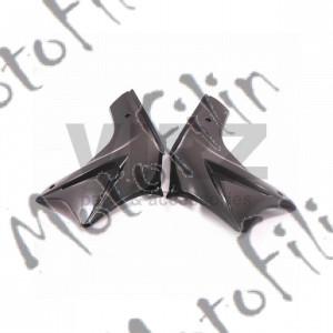 Пластик боковой передний (пара) TTR250a (цв. черный)